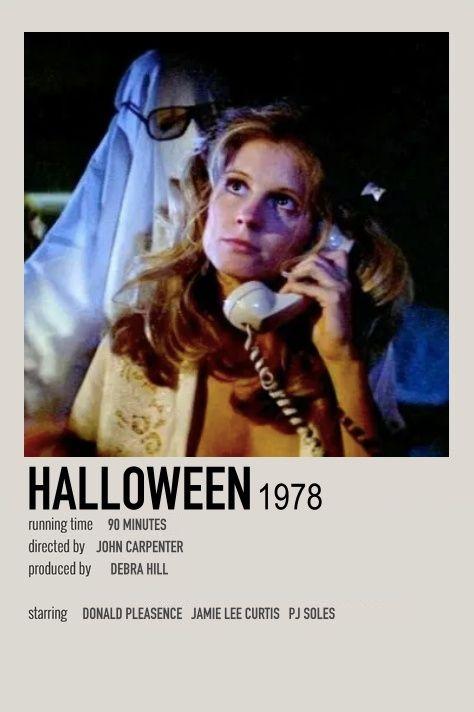 Halloween 2020 Donald Pleasence Halloween Poster in 2020 | Donald pleasence, Movie poster wall, Movies