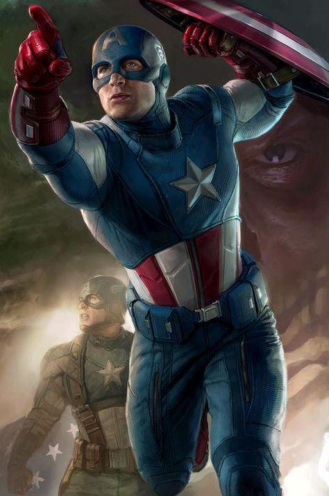 Legends: Captain America - Marvel Art - 30x20 / Printers Proofs