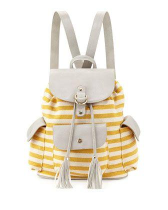 5d03767b481b4f Tessuto Stampato Floral Backpack Blue (Azzurro Dis Fiore) | *Neiman Marcus*  | Floral backpack, Prada backpack, Prada tessuto