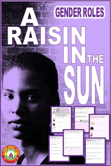 A Raisin In The Sun Gender Roles In The Play Activities Digital Enabled Engaging Lessons Gender Roles Engaging Lesson Plans