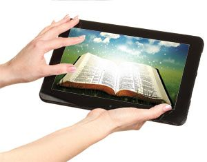 Bible tech tools  Whether through software, apps, social media or podcasts, technology helps us study Scripture like never before.    By Brandon Vogt - OSV Newsweekly, 3/18/2012