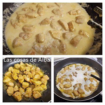 Pollo Al Curry Fácil Y Rápido En 2020 Pollo Al Curry Curry Pollo