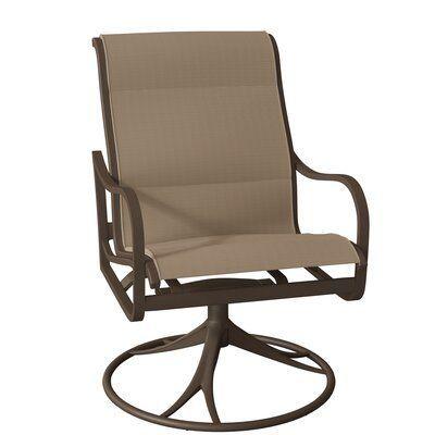Tropitone Shoreline Swivel Patio Dining Chair Perigold Tropitone Shoreline Swivel Patio Dini In 2020 Patio Rocking Chairs Patio Dining Chairs Outdoor Patio Chairs