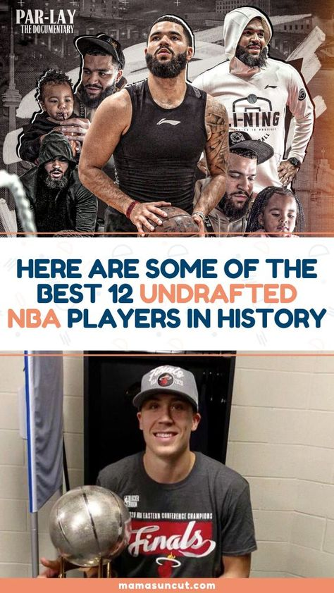 It's always nice to root for the underdog, for the guys who were counted out, for the undrafted. So here are some of the best undrafted NBA players in history.