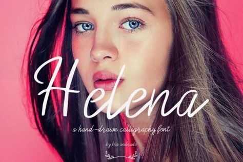 Helena (Font) by Just Bia · Creative Fabrica