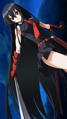 Akame Ga Kill Akame Art So Cool Akamegakill Akame Cosplayclass