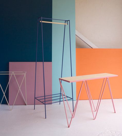 &New | Modern, Minimalist Furniture Made of Steel