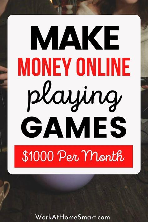 15 Ways To Make Money Playing Games Online