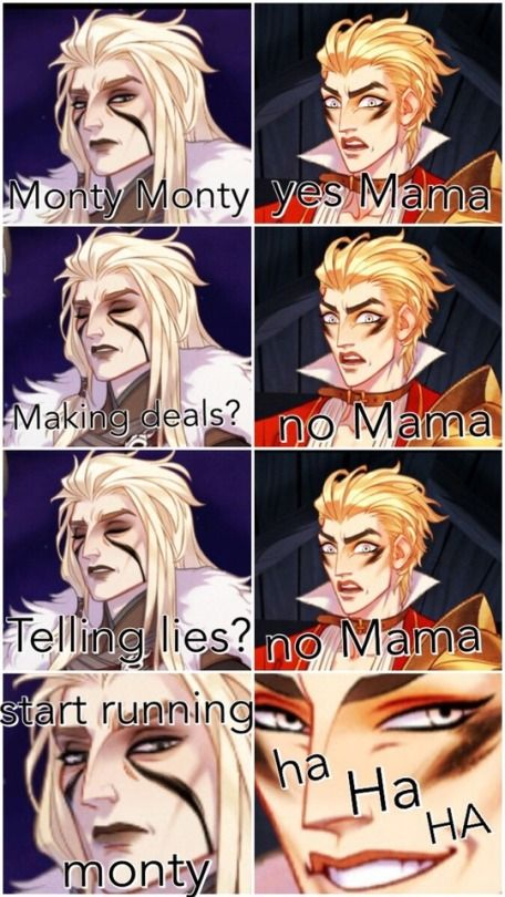 The Arcana Spoilers Tumblr With Images Arcanum Memes