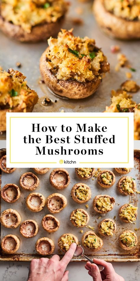 How To Make the Best Stuffed Mushrooms