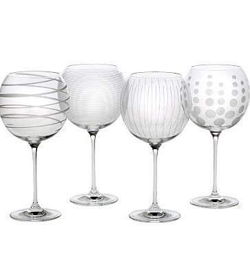 shower mikasa cheers goblet set for drinks and b smith for serviceware http