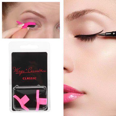 Fosa Classic Winged Eyeliner Stamp Dramatic Eyeliner Stencil