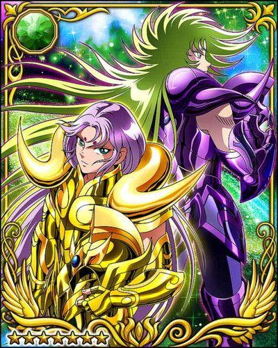Aries Mu And Shion Saint Seiya Knights Of The Zodiac Foto Saint Seiya Character Art Zodiac