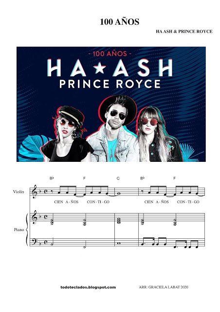 100 Años Ha Ash Prince Royce Ha Ash Letras Y Acordes Red Tour