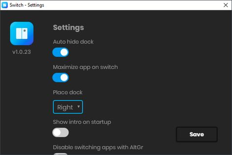 Switch Application For Mac