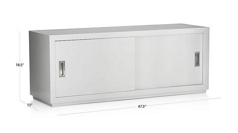 Aspect 47 5 Modular Sliding Door Storage Unit Crate And Barrel