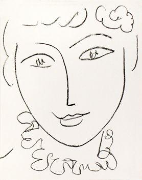lexique autour du portrait | Art de matisse, Peintures matisse et Portrait dessin
