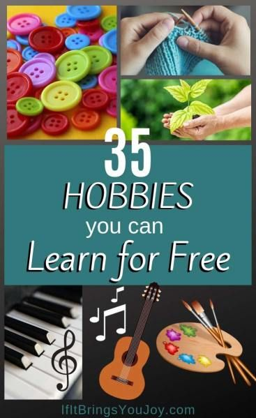 35 Fun Hobby Ideas You Can Learn for Free | IfItBringsYouJoy