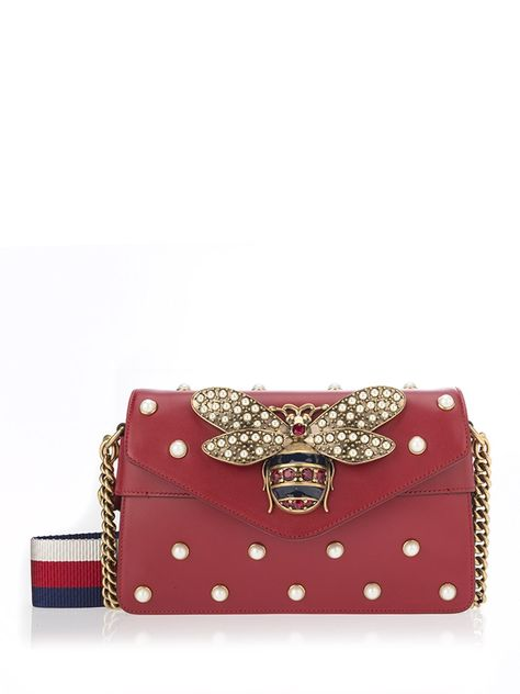 6eb15a537e681 GUCCI Broadway Mini Bag.  gucci  bags  nylon  leather  lining  shoulder  bags  crystal  silk