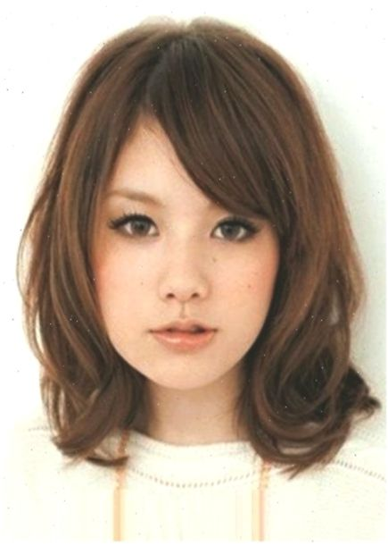 Hairstyles For Medium Length Hair Korean Side Bangs 58 Ideas Hairstylesformediumlen Haircuts For Long Hair With Bangs Round Face Haircuts Long Hair With Bangs