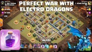 Best Th11 War Base Anti Electro Dragon 11