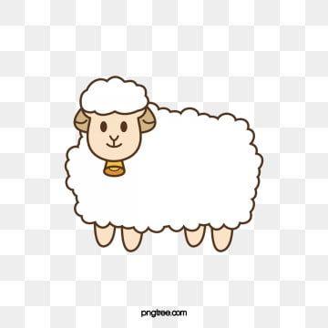 خروف الكرتون عيد الاضحى رسوم متحركة الأغنام المرسومة كرتون الخروف Png وملف Psd للتحميل مجانا Sheep Vector Eid Al Adha Graphic Design Background Templates