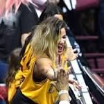 Khloe Kardashian Cheers On Boyfriend Tristan Thompson At NBA