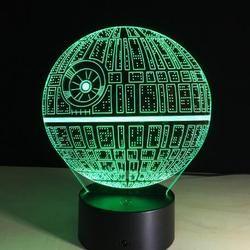 3d Visual Illusion Night Table Lamp Star Night Light Led Night Light Color Changing Lamp