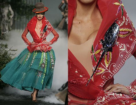 Christian Dior inspired by Peruvian Andean culture