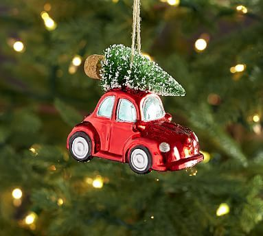 Car Christmas Ornaments.Mercury Beetle Car With Tree Ornament Products Ornaments