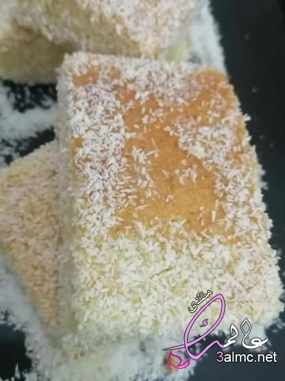 عصير مانجو بجوز الهند صينية جوز الهند بالسميد والطحين كيكة جوز الهند بالقطر بالصور Cake Vanilla Cake Desserts