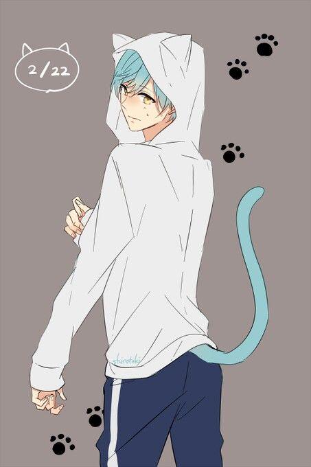 Tsuru This Is Strange After All Anime Neko Cute Anime Boy