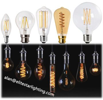 Standard Filament Led Bulb Directly Replace The Traditional Incandescent Bulb All Shape St26 St39 C35 A60 In 2020 Led Bulb Incandescent Bulbs Edison Light Bulbs