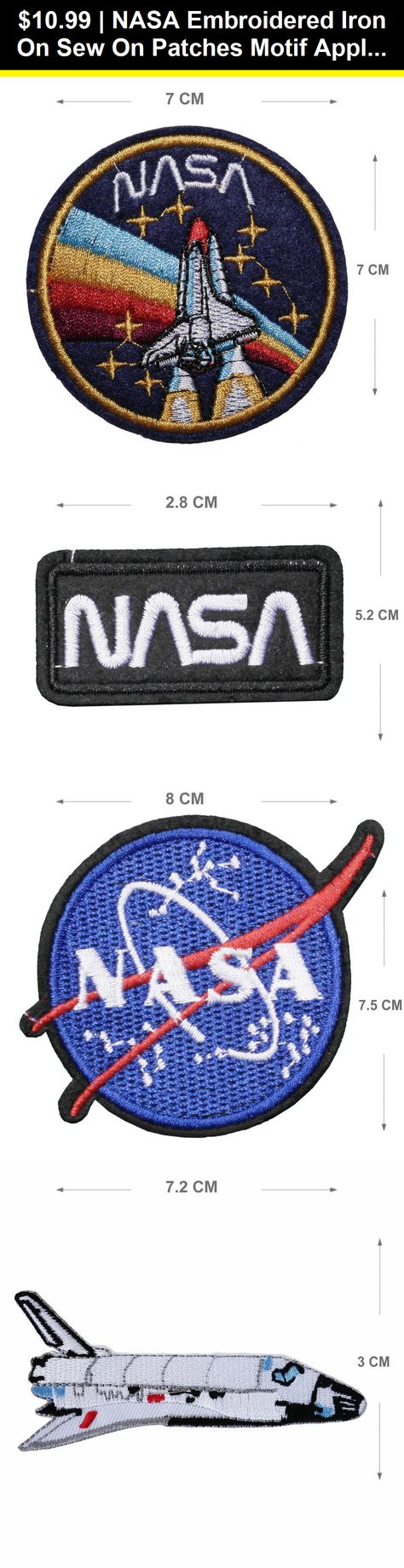 Embroidery Applique Patch Sew Iron Badge Iron On Blind Text