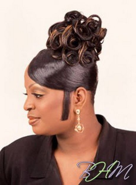 African American 90s Hairstyle With Images Black Hair Updo