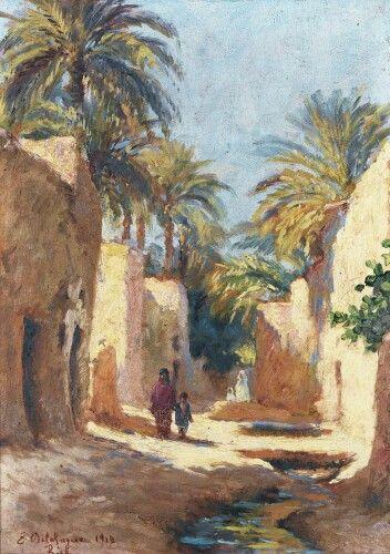 Epingle Sur Peinture D Algerie