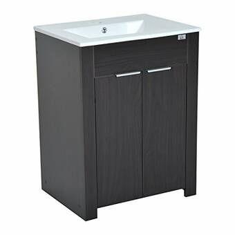 Cosimo 24 Single Bathroom Vanity Set Reviews Joss Main Bathroom Vanity Single Sink Bathroom Vanity Vanity Sink