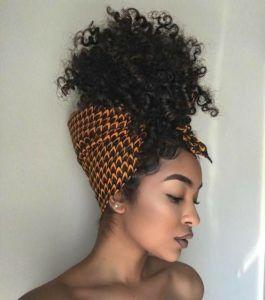 Pineapple Method For Short Hair Natural Hair Styles Curly Hair Styles Short Natural Hair Styles