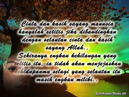 Foto Kata Mutiara Cinta Islami Di 2020 Kata Kata Mutiara Allah