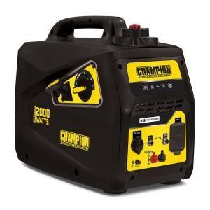 Champion Power Equipment Gasoline Portable Inverter Generator Is Perfect For Powering I Portable Inverter Generator Inverter Generator Portable Power Generator