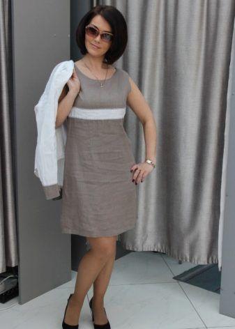 c68968626 Летние платья из льна по праву можно считать самой комфортной одеждой для  жаркого лета. Каковы преимущества и недостатки льняных платьев?