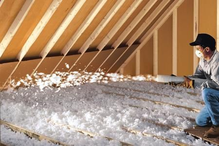 Blown In Attic Insulation Blown In Cellulose Insulation Also Called Loose Fill Or Wool Insulation Is Especially Useful In Unfinished Attics Or Attics Thing 1