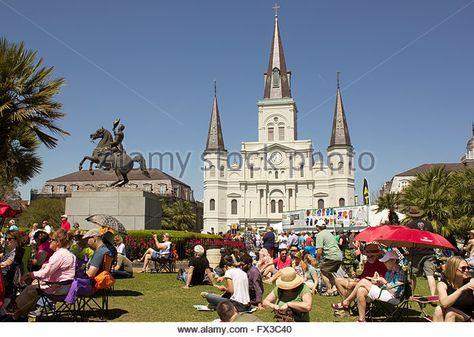french quarter festival a la nouvelle orleans