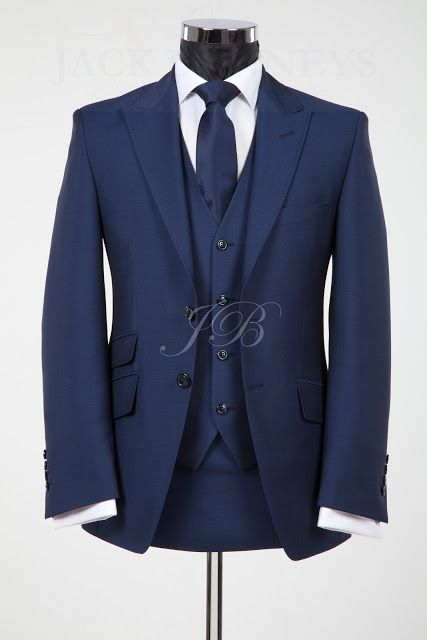 The York Blue Wedding Suit Hire From Jack Bunneys Vintage Wedding Suits Wedding Suits Groom Tuxedo Navy