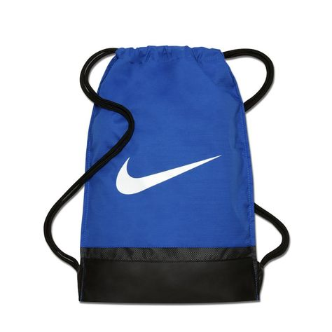 beneficio diario dividir  Nike Brasilia Training Gymsack - Blue   Nike, Carryall, Bags