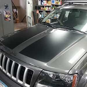Jeep Grand Cherokee Wj Hood Blackout Jeepgrandcherokee Jeepdecals Jeep Wj Jeep Accessories Jeep Grand Cherokee Accessories
