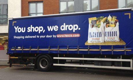 Tesco planning same-day delivery as it battles rivals