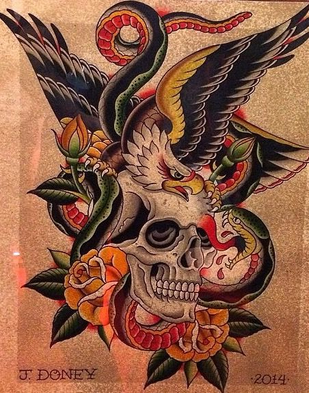 American Traditional Chest Tattoo Battle Royale Traditional Chest Tattoo Traditional Eagle Tattoo Traditional Back Tattoo