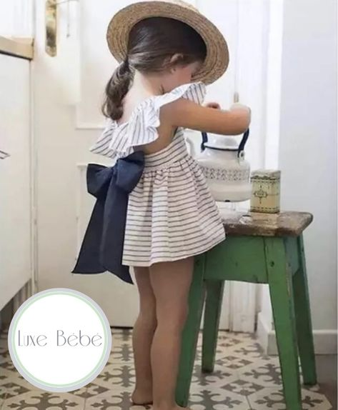 Get ready for days full of tea parties with this adorable romper and sunhat summerstyle // lovelittlefaces / favorite!