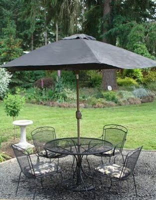 Refresh A Faded Outdoor Umbrella With Spray Paint In 2018 Outdoor